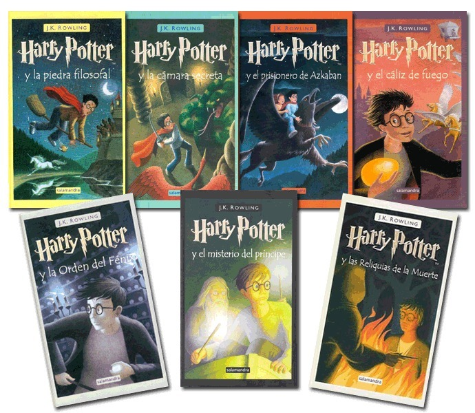 HP saga completa