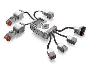LEGO MINDSTORMS motores y sensores