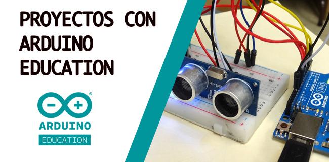Imagen promocional de proyectos de Arduino Education