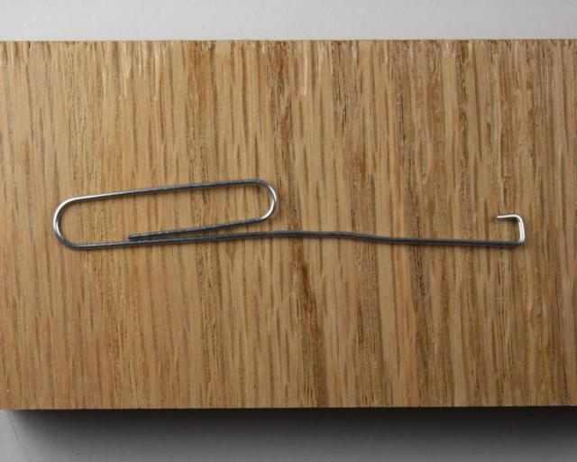 1 - Bent Paper Clip