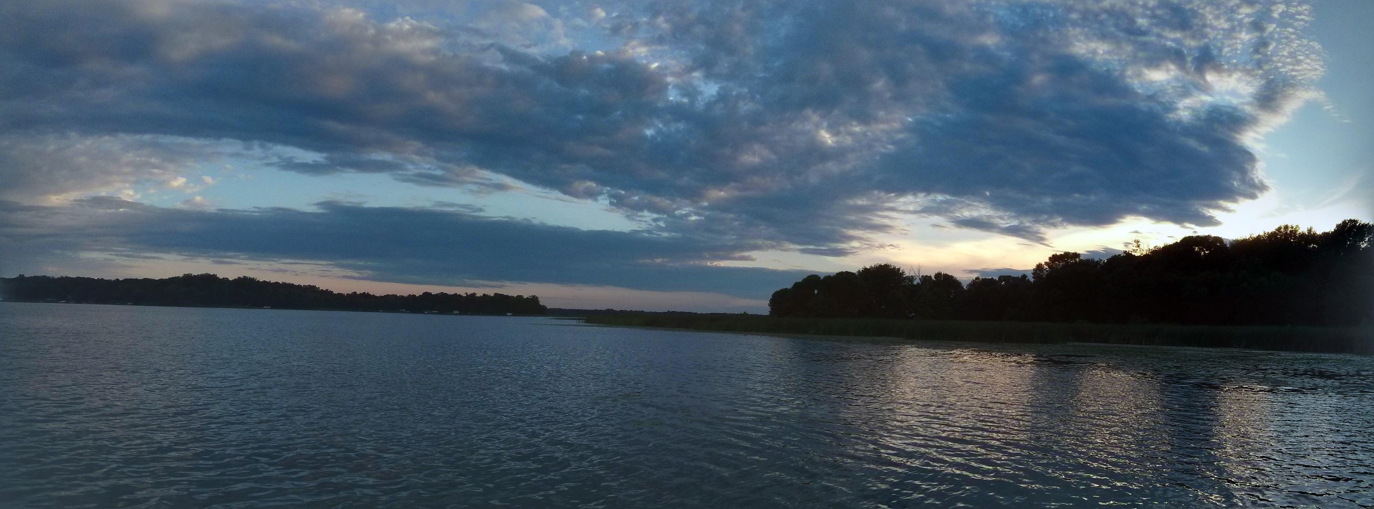 52) Went Fishing on Big Marine Lake #NewThingEveryDay