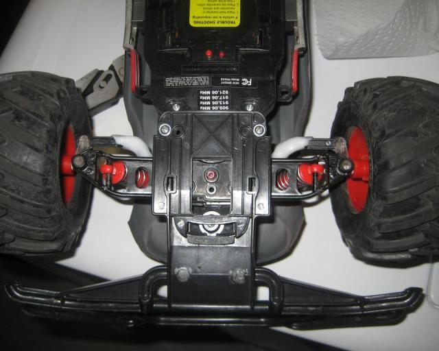 Thermoplastic Repair on RC car
