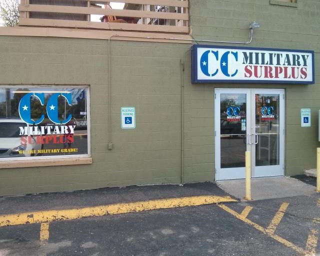 CC Miltary Surplus Front