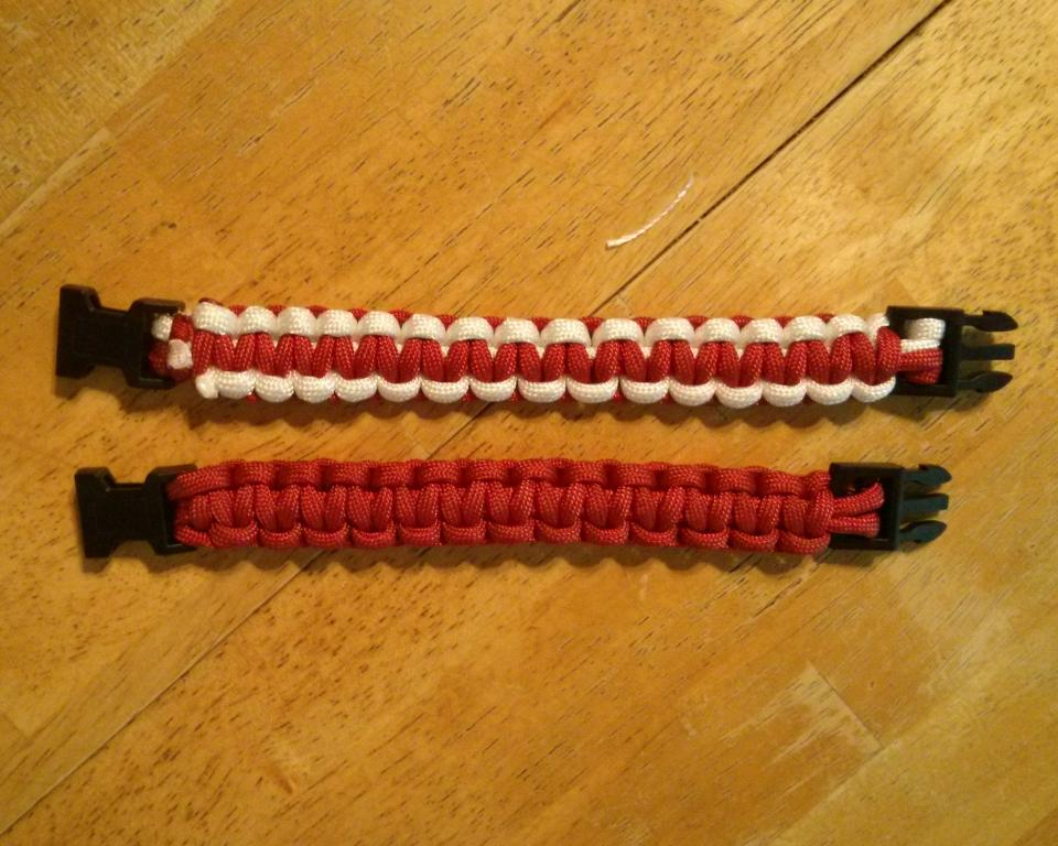 Two Paracord Barcelets