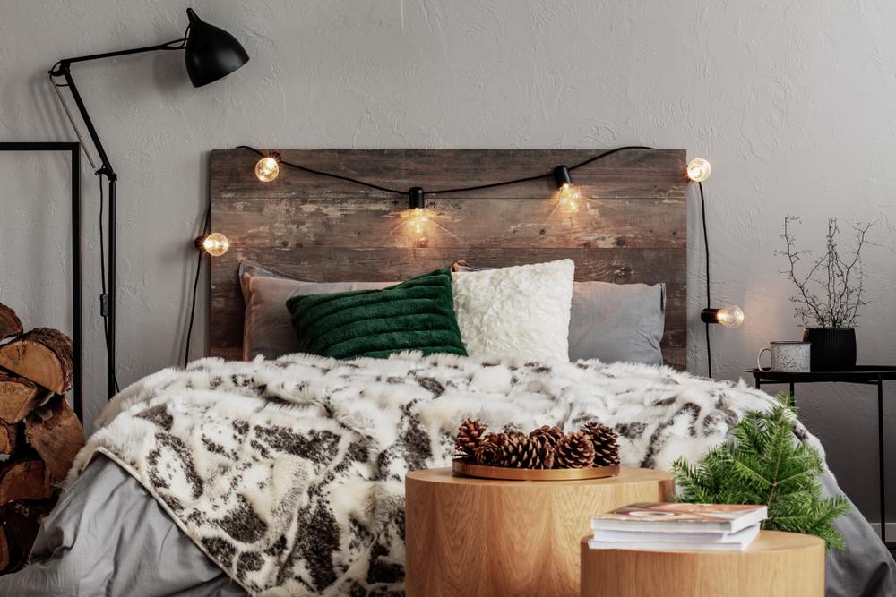 idei amenajare dormitor rustic
