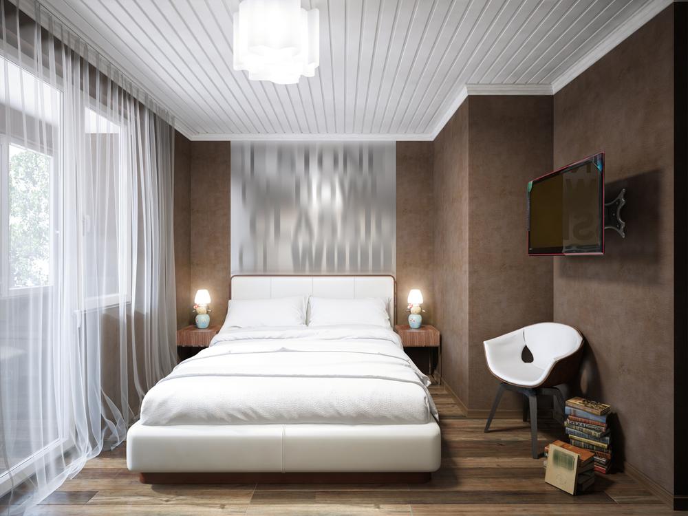 amenajare dormitor de mici dimensiuni