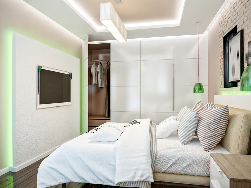 dormitor de mici dimensiuni