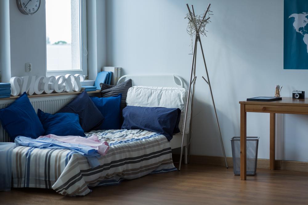 dormitorul pentru burlaci