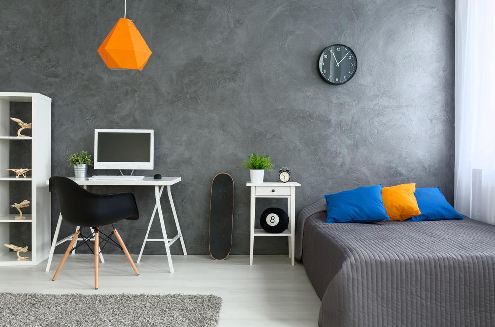 cromatica unui dormitor pentru adolescenti