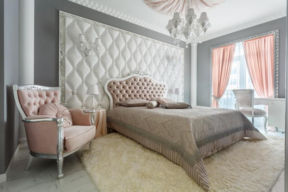 amenajarea dormitorului clasic