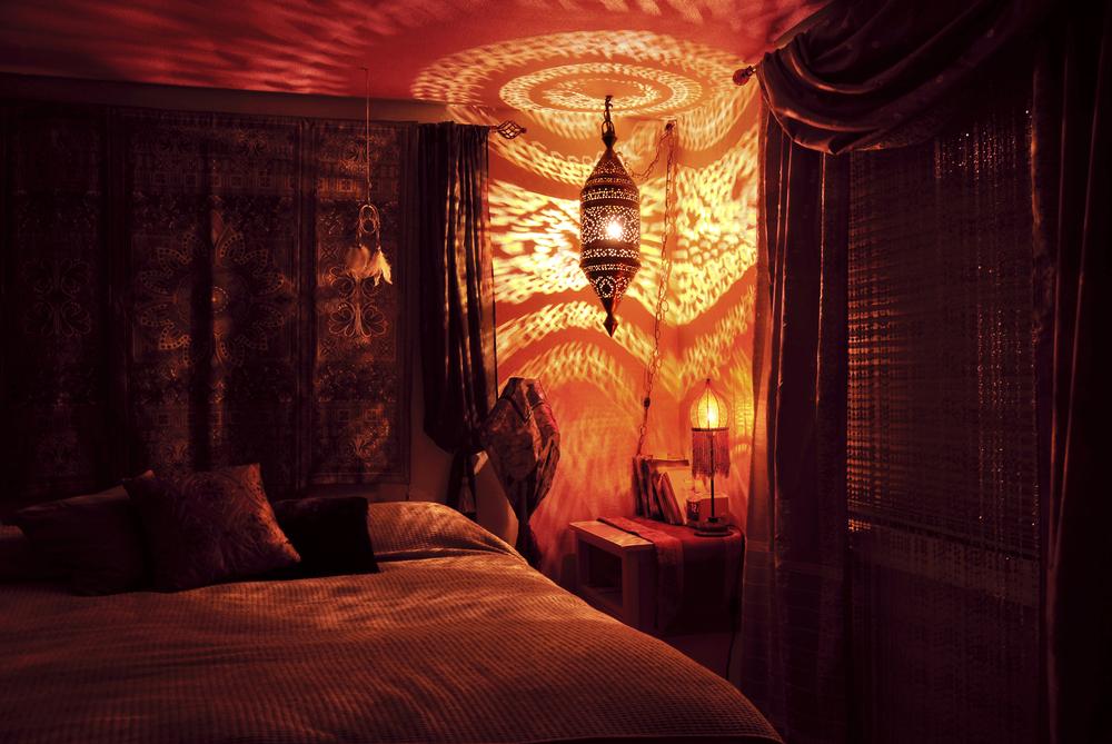 culori specifice dormitorului romantic