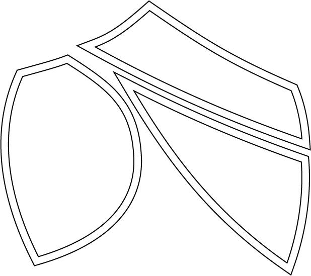 Bra cup pattern