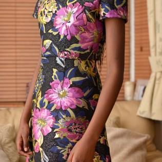 Day dress overlay side