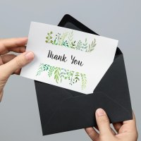 Thank You Note Etiquette: DIY Marbled Handmade Cards to ...