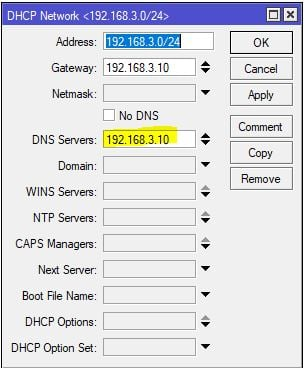 opendns-mikrotik-dhcp-network