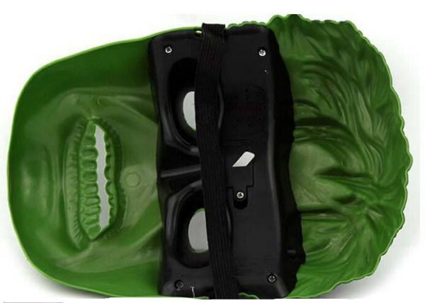 Máscaras de LED hulk dentro