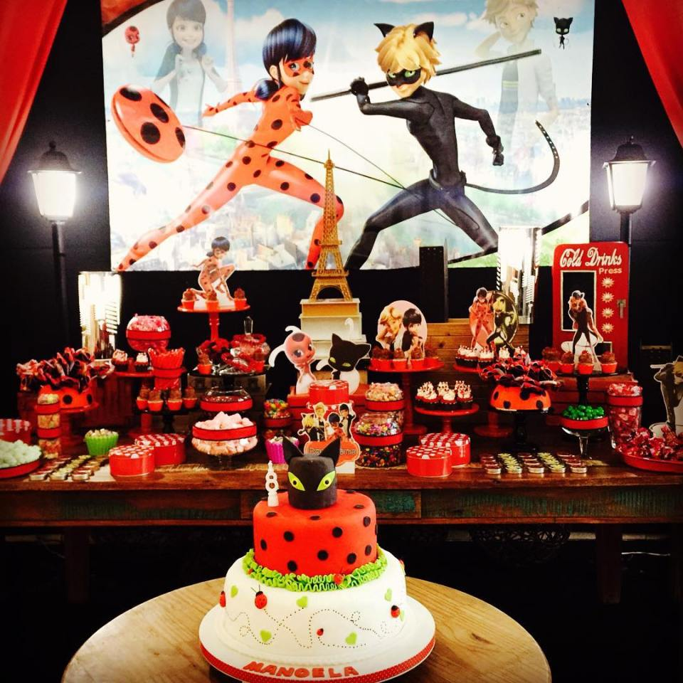 festa-infantil-decoração-ladybug