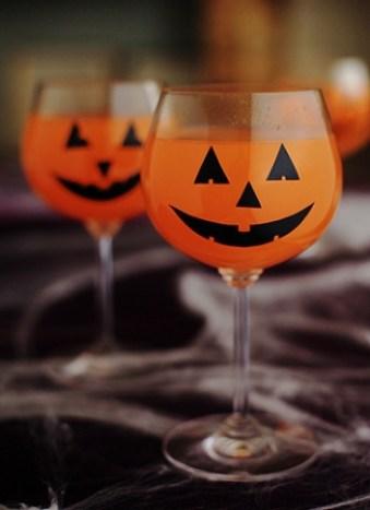 bebidas halloween aniversário