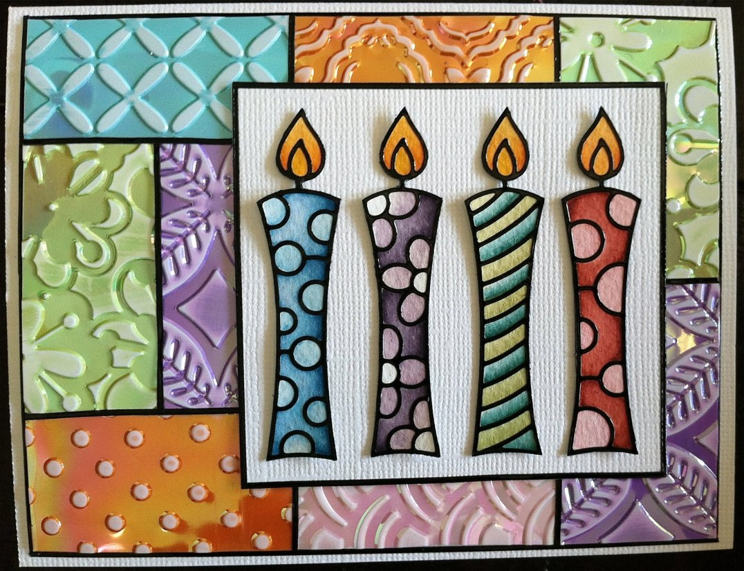Candles Peel-Off and Shimmer Sheetz