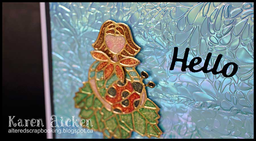 Flower Cutie Hello Card _ 2