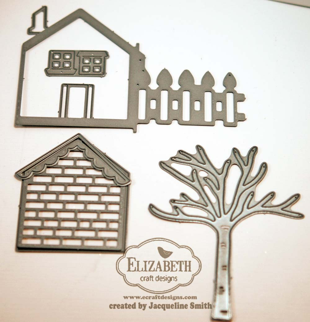 """Silver Doubled Embossed /""""Merry Christmas/"""" Borders Sticker Sheet on Clear Back"""
