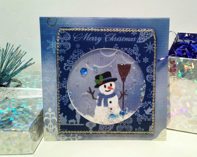 SnowmanShakerCard