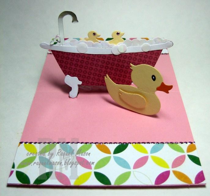 KB ECD Bathtub Rubber Duck open