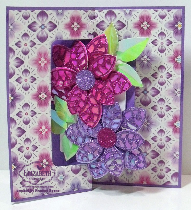 Elizabeth Craft Designs Stand Up Helpers : Elizabeth craft designs march designers challenge u flower power