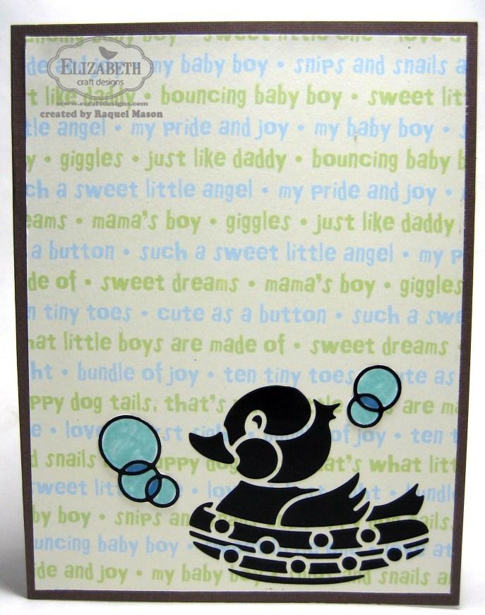 ECD DC April Baby duck open