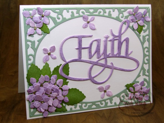Elizabeth Craft Designs Suzanne Cannon Way with words Faith 1