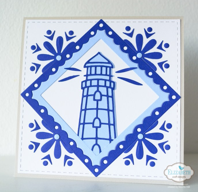 Marsha Valk | Elizabeth Craft Designs: Delftware Inspired Cards