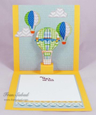 PIU Hot Air Balloon 03 open
