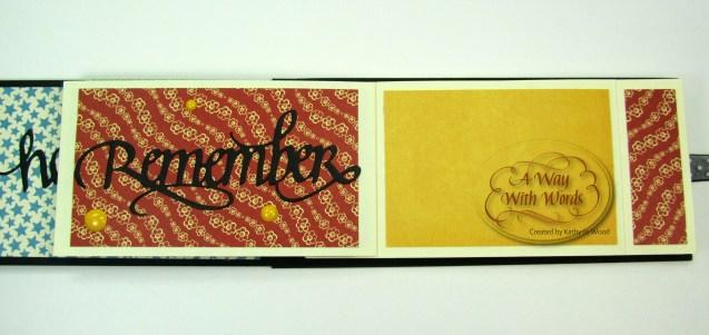 Elizabeth Craft Designs Suzanne Cannon Summer Graphic 45 mini album summer Mother Goose Kathy Jo Wood 6