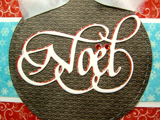 Elizabeth Craft Designs Suzanne Cannon Noel Christmas card Kathy Jo 3