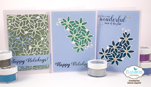 Sanna Lippert - Glitter Christmas cards