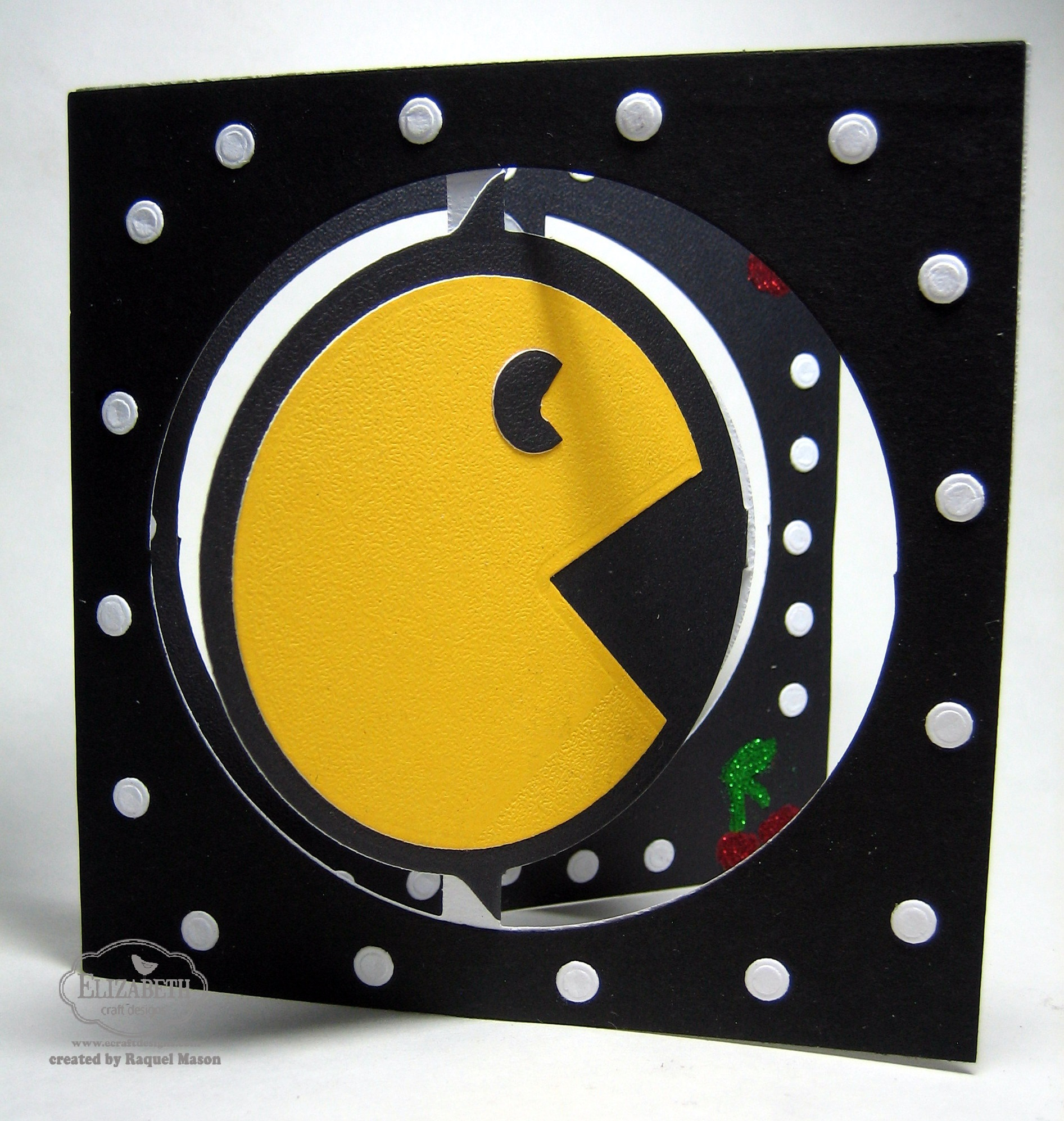 Pop It Ups Wednesday With Raquel Pac Man Elizabeth Craft Designs