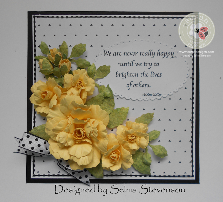 Yellow Roses by Selma Stevenson