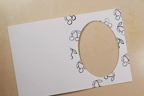Bird on a Wire Card - Step 5