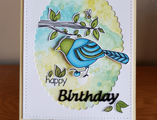 Bird Card by Tina