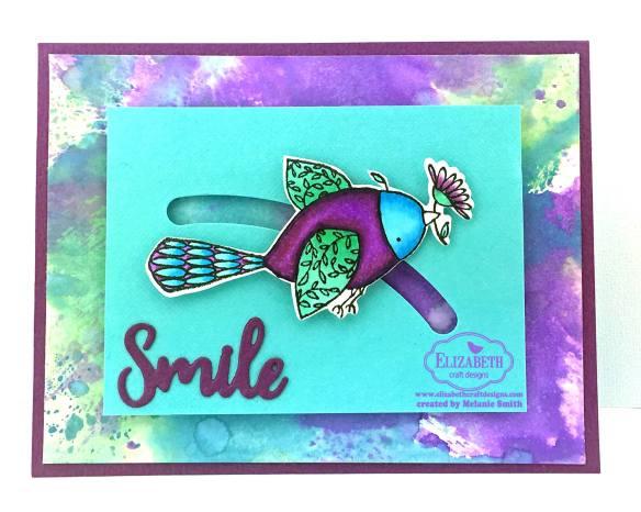Smile Spinner Card by Melanie Smith