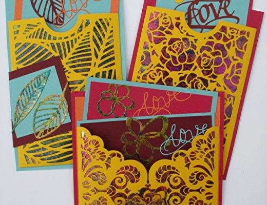 Pocket Cards with Shimmer Sheetz Lining By Judi Kauffman
