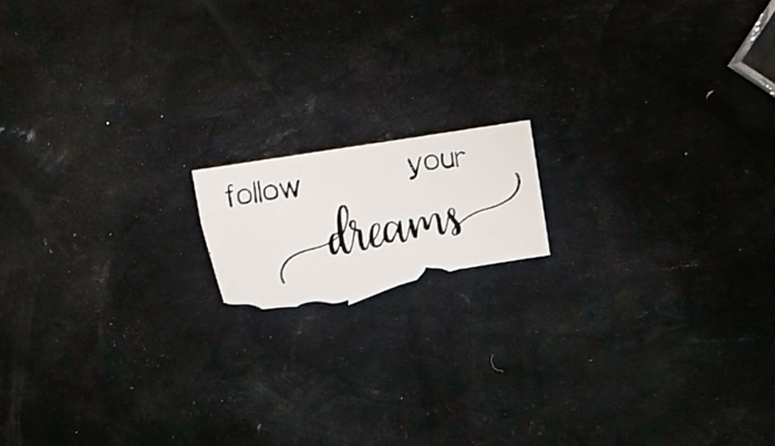 Follow Your Butterfly Dreams Card - Step 2
