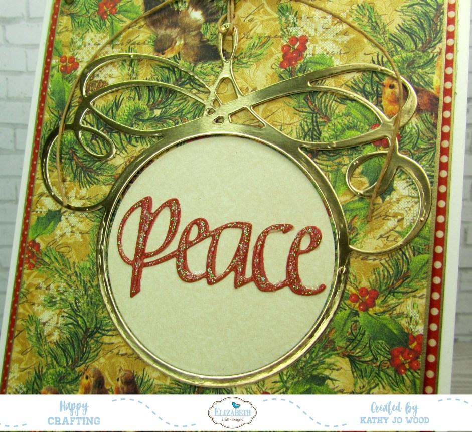 Peace Ornament Craft Construction Paper