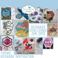 Elizabeth Craft Designs Designer Challenge – June 2018