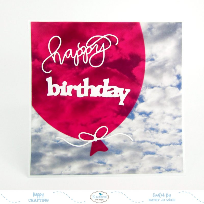 Happy Birthday Balloon Cards With Video Elizabeth Craft Designs