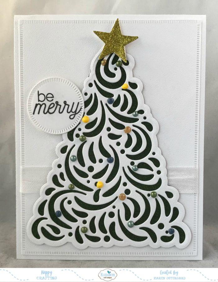 Elizabeth Craft Elegant Christmas Tree에 대한 이미지 검색결과