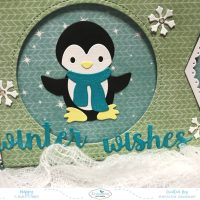Winter Wishes Christmas Card
