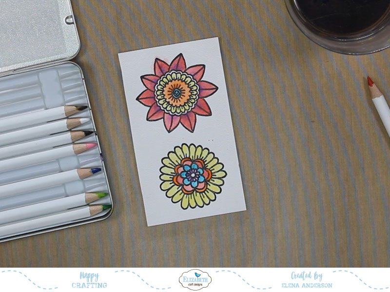 Floral Thanksgiving Card - Step 2