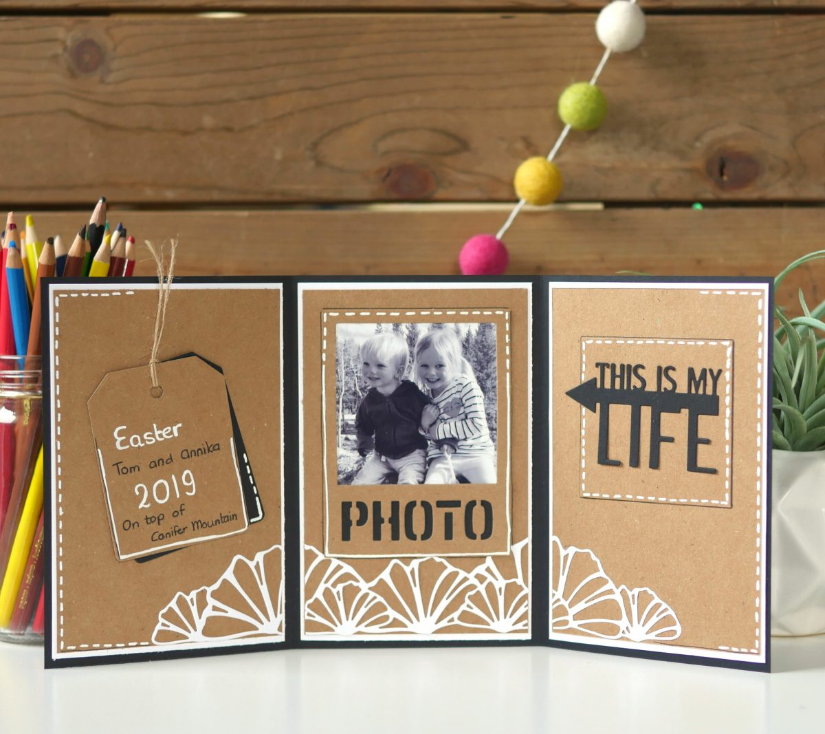 Technique Friday –– Tri-Fold Memory Keepsake