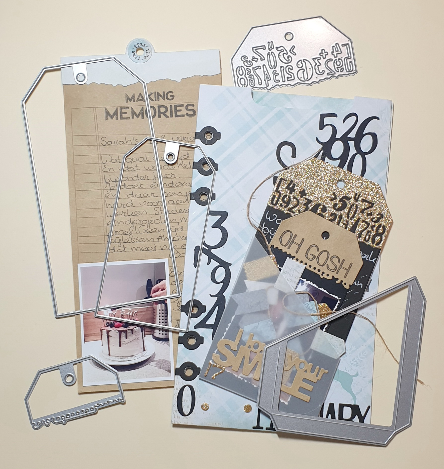 Filmstrip Metal Die Cuts for Scrapbooking and Card-Making and DIY Crafts by The Stamps of Life Camera Die